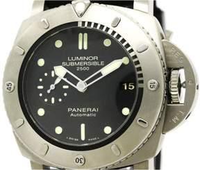 Panerai Luminor PAM00364 Titanium & Rubber Automatic 47mm Mens Watch
