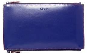 Lodis Audrey Lani Double Zip Leather Pouch