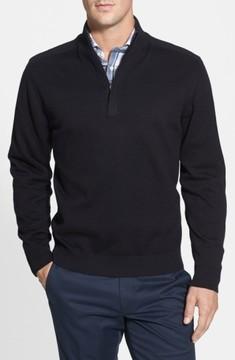 Cutter & Buck Men's Big & Tall Broadview Half Zip Sweater