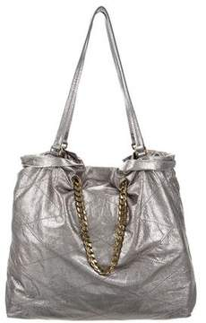 Lanvin Metallic Carry Me Tote