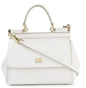Dolce & Gabbana small Sicily shoulder bag - WHITE - STYLE