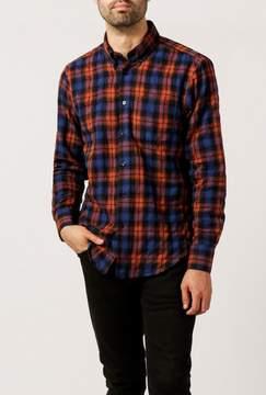 Naked & Famous Denim Jacquard Flannel Regular Shirt