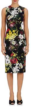 Dolce & Gabbana Women's Floral Silk-Blend Sheath Dress