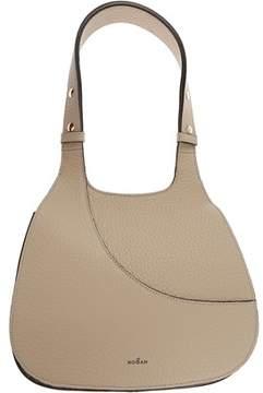 Hogan Women's Beige Leather Shoulder Bag.