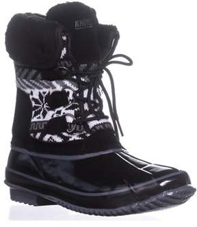 Khombu Mayana Casual Cold Weather Boots, Black.