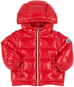 Moncler Kids' Down-Quilted Tech-Fabric Coat