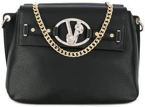 Versace logo detail handbag