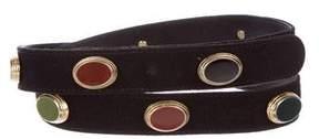 Oscar de la Renta Embellished Waist Belt