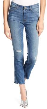 Mother Rascal Ankle Straight Leg Jeans