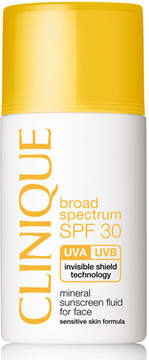 Clinique Mineral Sunscreen Fluid for Face Broad Spectrum SPF 30, 1.0 oz.