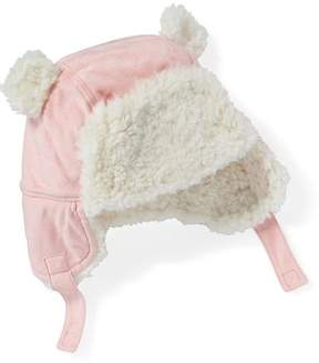 Old Navy Sueded Sherpa-Lined Trapper Hat for Baby