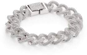 Adriana Orsini Pave Curb Chain Bracelet