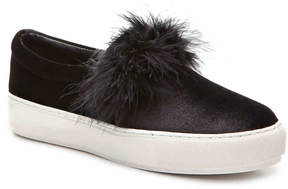Penny Loves Kenny Women's Arty Velvet Slip-On Sneaker