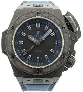 Hublot King Power Oceanographic 731.QX.1190.GR.ABB12 Carbon Fiber & Rubber Mens Watch
