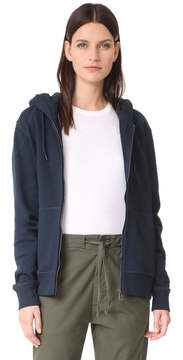 Belstaff Wentworth Fleece Zip Up Hoodie