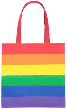 Forever 21 Rainbow-Striped Tote