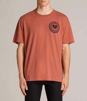 AllSaints Fraternity Switch Crew T-Shirt