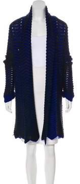 Ella Moss Patterned Knit Cardigan