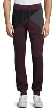 Madison Supply Geometric Colorblock Jogger Pants