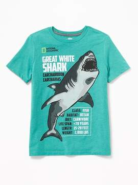 Old Navy National Geographic Shark-Graphic Tee for Boys