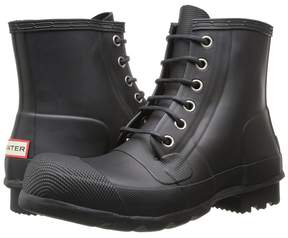 Hunter Original Rubber Lace-Up Boots Men's Rain Boots