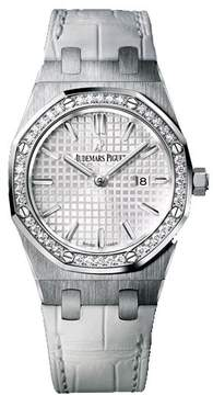 Audemars Piguet Royal Oak Diamond Stainless Steel Ladies Watch