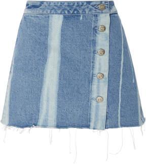 3x1 Higher Ground Denim Mini Skirt