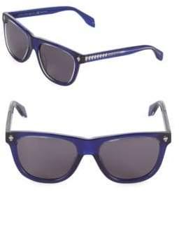 Alexander McQueen 53MM Round Sunglasses