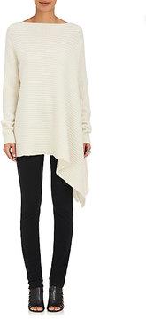 Derek Lam Women's Cashmere-Blend English Rib-Knit Oversized Sweater
