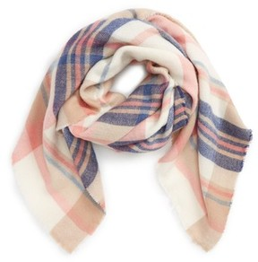 David & Young Women's Plaid Scarf