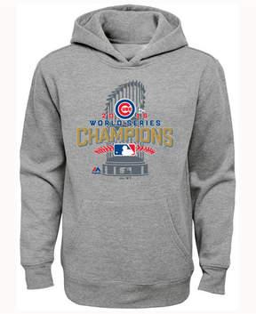 Majestic Chicago Cubs World Series Locker Room Hoodie, Big Boys (8-20)