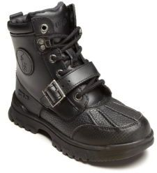 Ralph Lauren Toddler's & Kid's Leather Lace-Up Boots