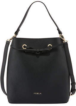 Furla Costanza Medium Leather Bucket Bag