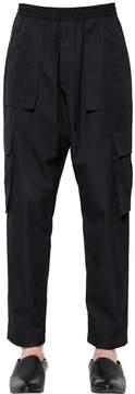Juun.J Cotton Canvas Cargo Pants