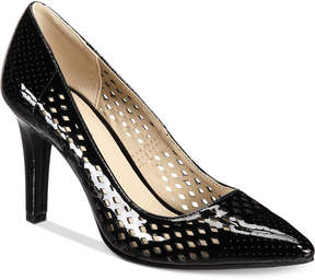 Rialto Moreen Perforated Pointed-Toe Pumps Women's Shoes