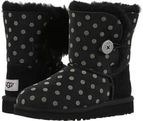UGG Bailey Button Polka Dot Girl's Shoes