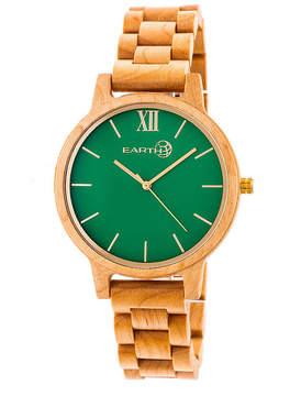 Earth Wood Pike Unisex Brown Bracelet Watch-Ethew5201