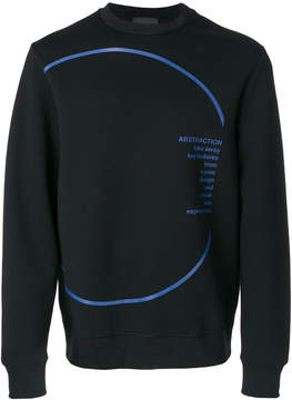 Diesel Black Gold graphic print sweatshirt