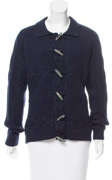 Brooks Brothers Wool Cable Knit Sweater