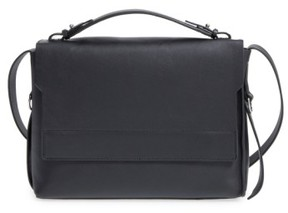 Allsaints 'Paradise' Leather Shoulder Bag - Black