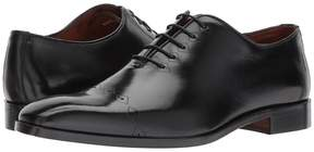 Matteo Massimo Laser Cap Toe Men's Lace Up Cap Toe Shoes