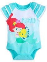 Disney Ariel and Flounder Cuddly Bodysuit for Baby