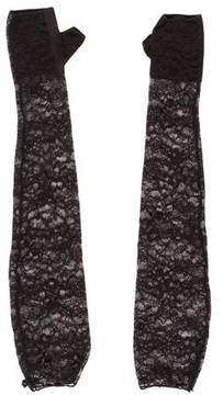 Chanel Paris-Dubai Fingerless Lace Gloves w/ Tags