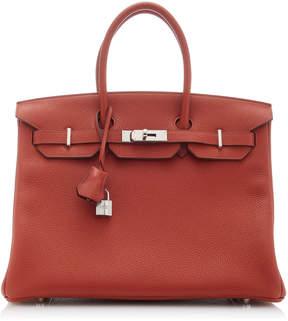 Hermes Vintage by Heritage Auctions 35cm Brique Togo Leather Birkin Bag