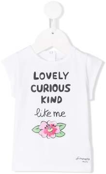 Simonetta lovely curious kind T-shirt