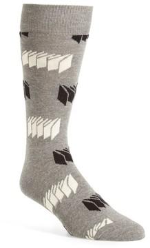 Happy Socks Men's Optic Print Socks