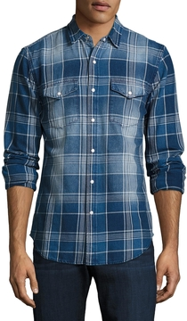 Joe's Jeans Men's Ralston Cotton Sportshirt