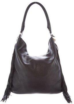 Rebecca Minkoff Clark Leather Hobo - BLACK - STYLE