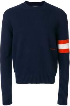 Calvin Klein contrast cuff sweater