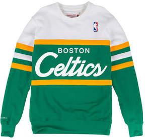 Mitchell & Ness Men's Boston Celtics Head Coach Crew Sweatshirt